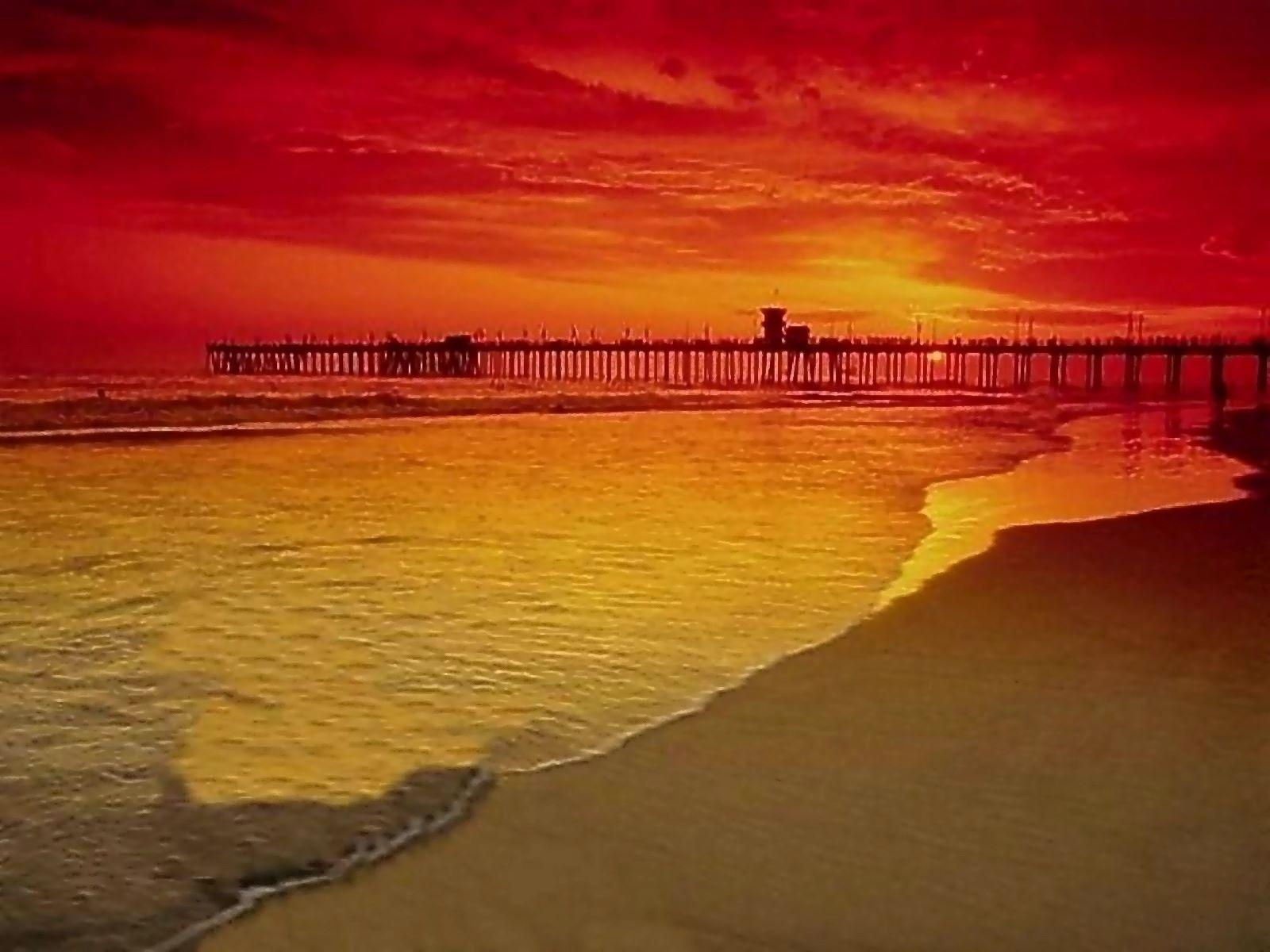 Zon zee strand op deze